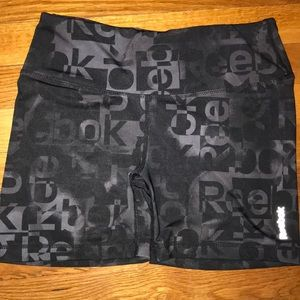 Reebok athletic spandex shorts